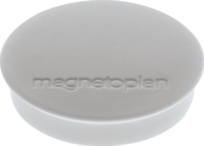 Magnet Basic D.30mm grau MAGNETOPLAN