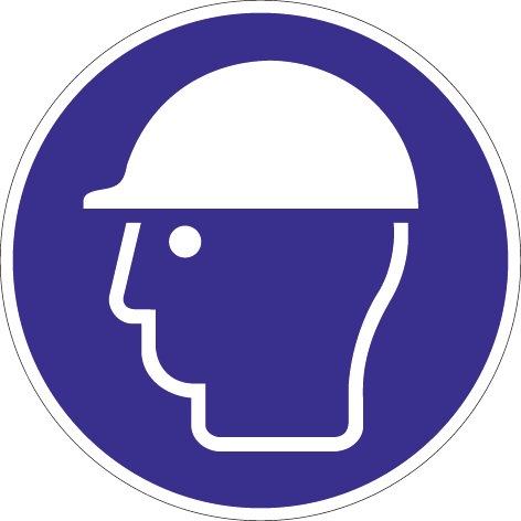 Folie Kopfschutz benutzen D.200mm