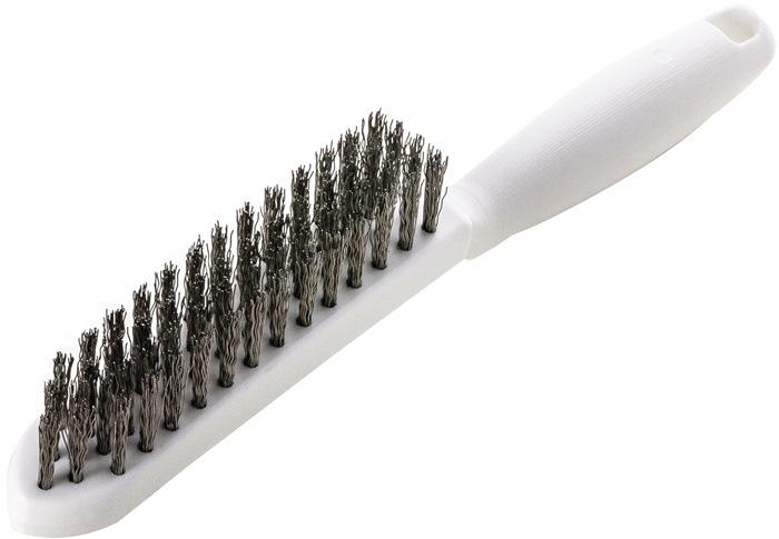Drahtbürste L.285mm 0,35mm VA-Stahldraht
