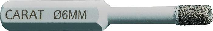 Fliesenbohrer D.6mm 30mm 6-kant-Aufnahme