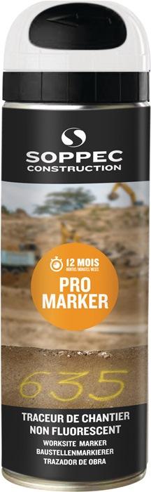Baustellenmarkierspray Pro Marker weiß