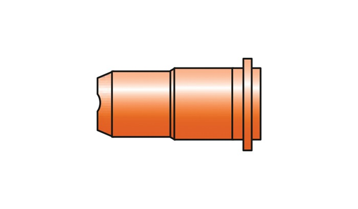 Schneiddüse D.0,65mm lang f.S 25K,S