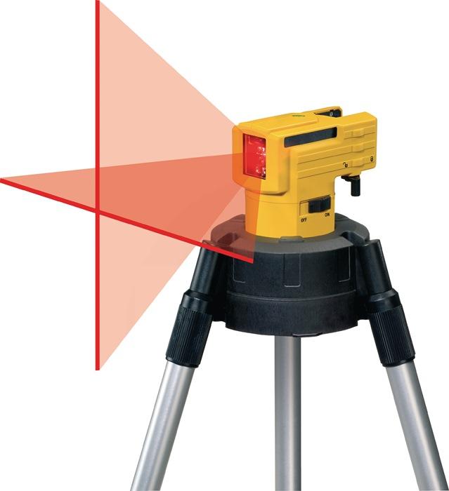 Kreuzlinienlaser LAX 50 10m ± 0,5 mm/m