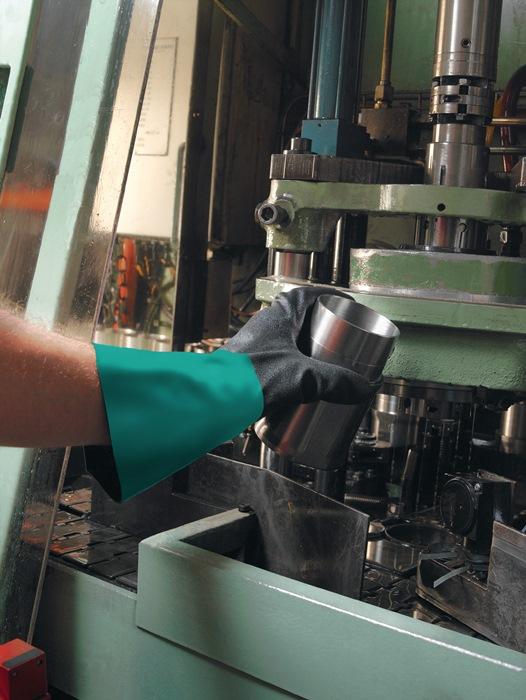 Chemiehandschuh Alpha-Tec 58-530W Gr.10