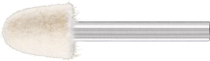 Filzpolierstift D15xH20mm 6mm Filz KEL