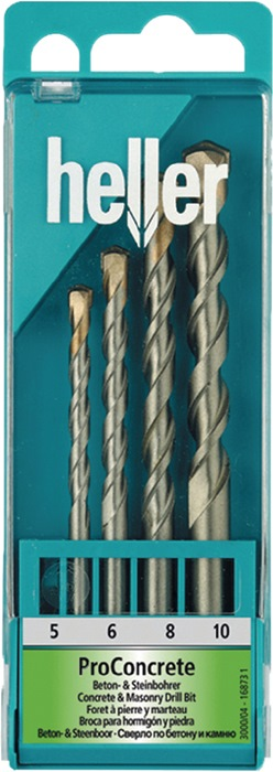 Beton-/Steinbohrersatz ISO5468