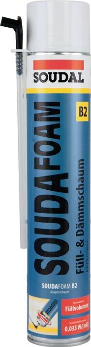 1K-Montageschaum SOUDAFOAM 750 ml B2