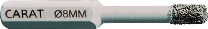 Fliesenbohrer D.8mm 35mm 6-kant-Aufnahme