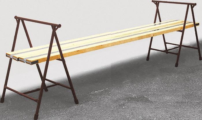Handwerkerbock B0,8xH91m 52-90cm MÜBA