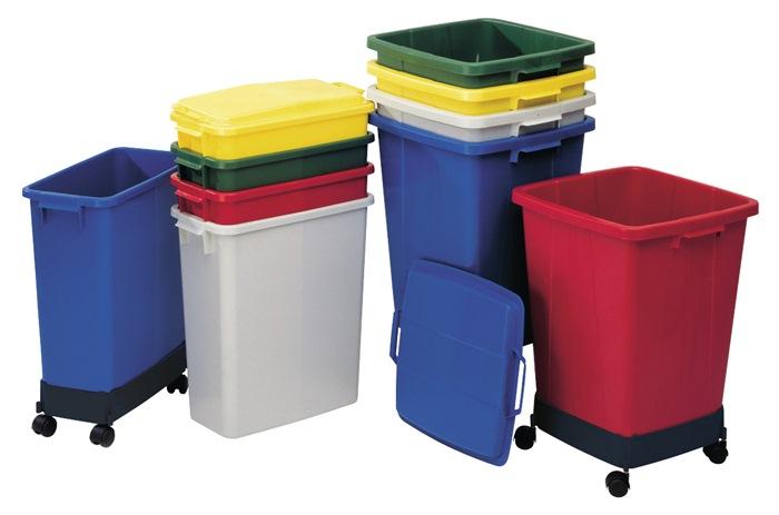 Abfall- u.Wertstoffsammler 90l
