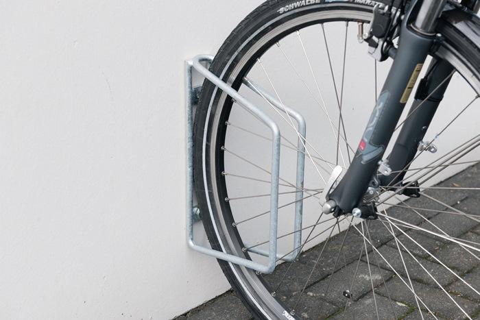Fahrradklemmbügel 45° verz.Anz.Radstände