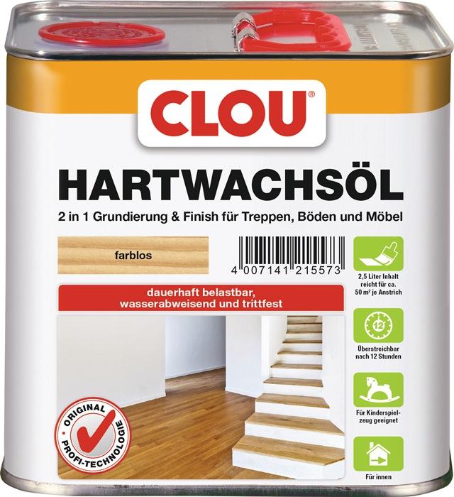 Hartwachs-Öl flüssig farblos 2,5l Dose
