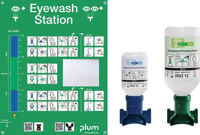 Augennotfallstation 1x200 ml pH