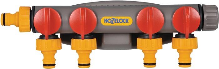 4-Wege-Hahnstück PVC HOZELOCK