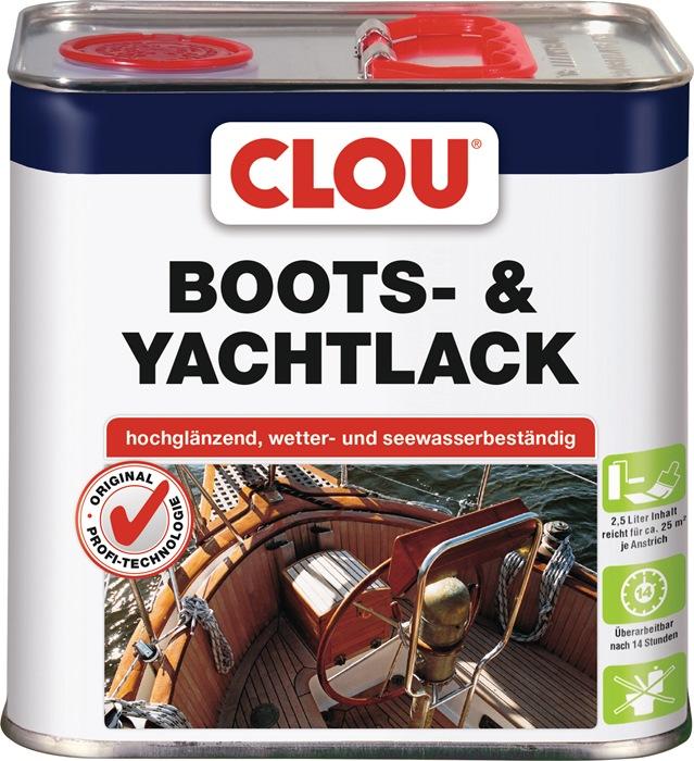 Boots-/Yachtlack farblos glänzend 2,5l