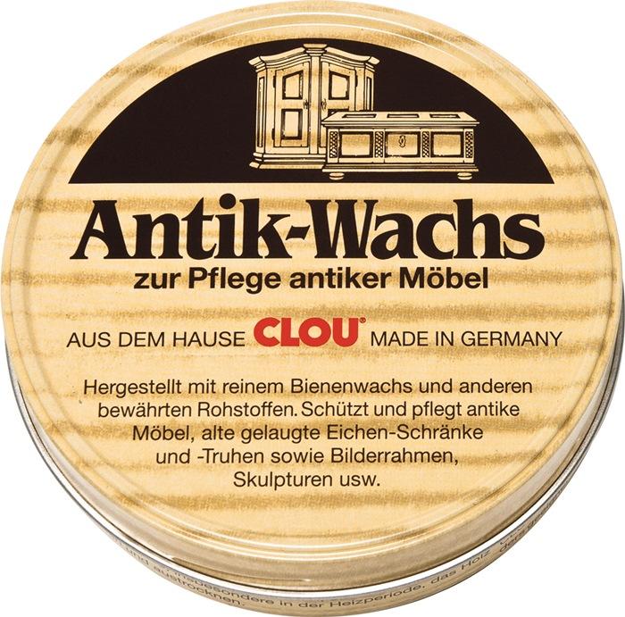 Antikwachs fest natur 200 ml Dose CLOU