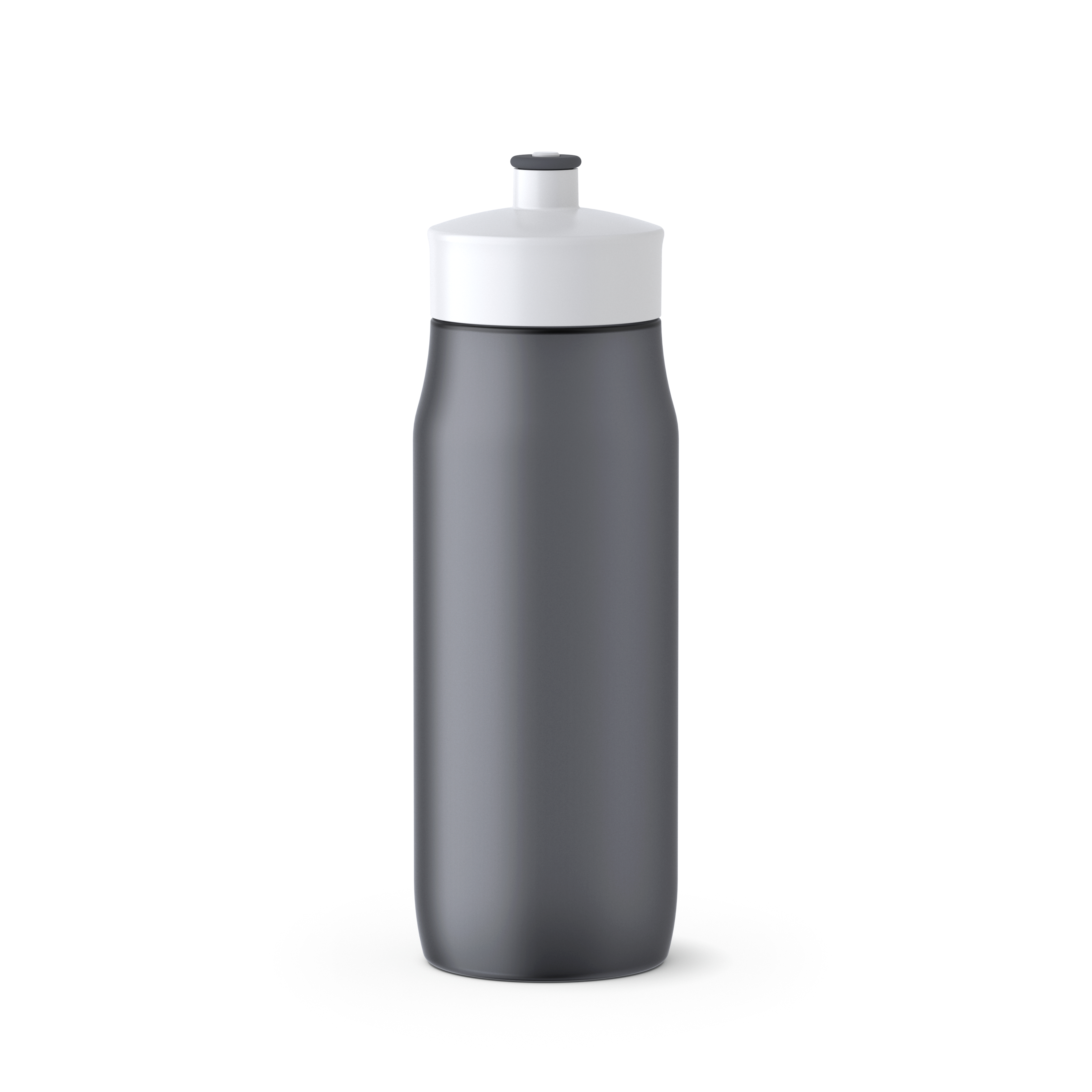 EMSA 518086 SQUEEZE Sport-Trinkflasche - 0,6 L ANTHRAZIT