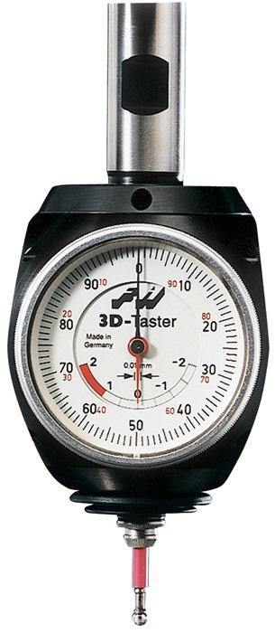 3D-Taster Einspannschaft-D.20mm analog