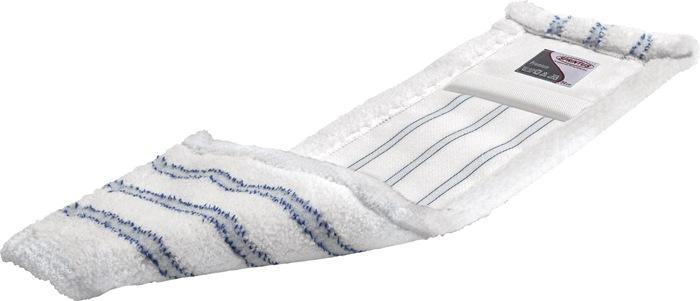 Wischmopp m.Taschen Mikrofaser,weiß/blau