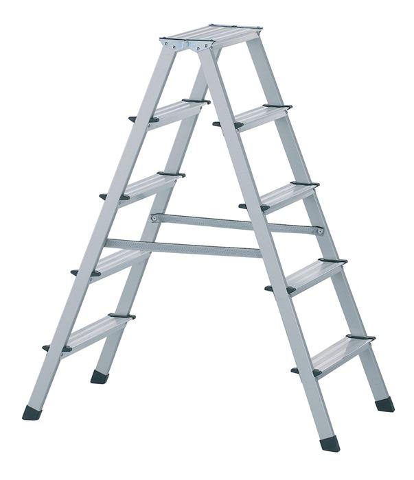 Stufenstehleiter 2x3 Stufen