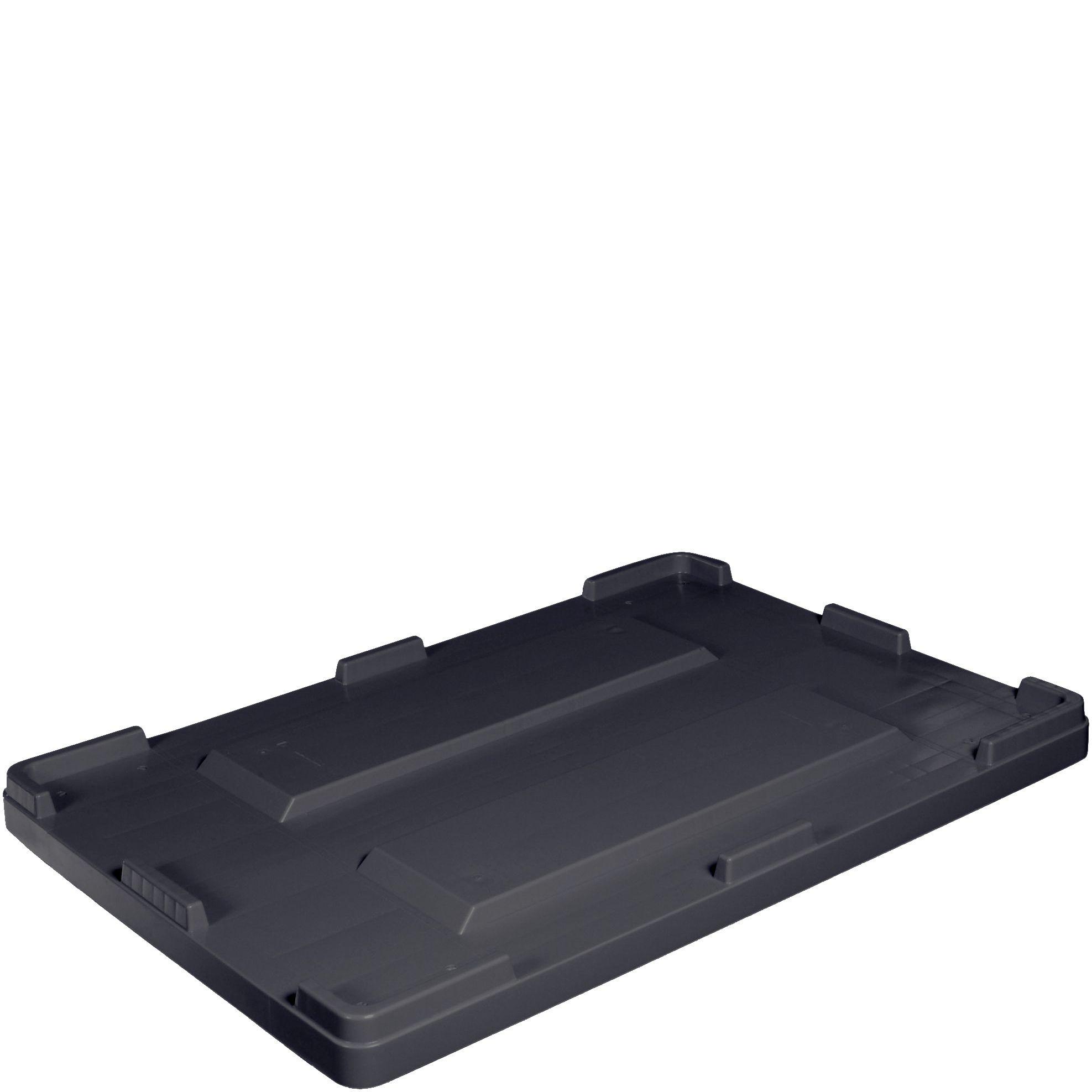 -Deckel Palettenbox PKD1000 gr