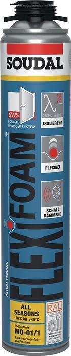 1K-Pistolenschaum FLEXI FOAM 750 ml B2