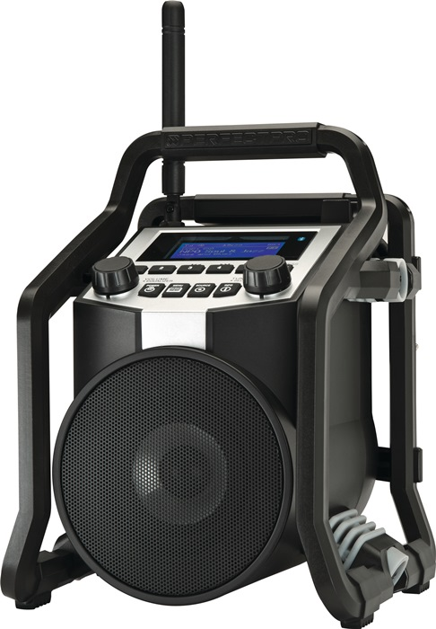 Baustellenradio PowerPlayer 11,1 V 230 V
