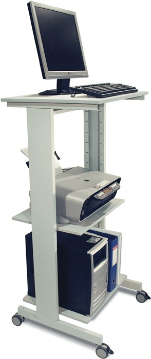 PC-Arbeitstisch H1180xB600xT500mm