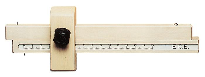Streichmaß L.150mm Weißbuche ECE