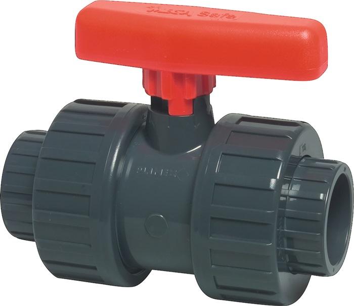Kugelhahn Safe 600 PVC-U Nenn-Gr.mm 20