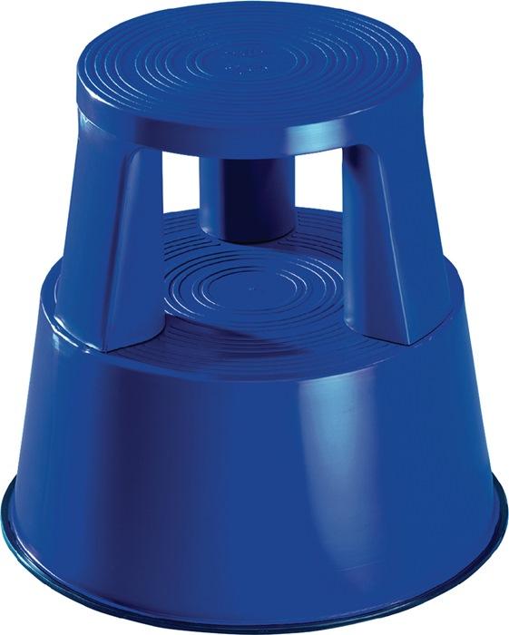 Rollhocker Ku.blau H.mit/ohne Belastung