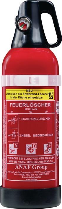 Schaumfeuerlöscher FLS 3453 2l Brandkl.8