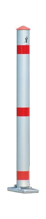 Sperrpfosten Alu.natur D.75mm