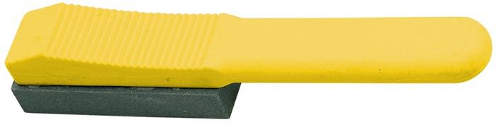 Handläpper L125xB25xH20mm 180 gelb