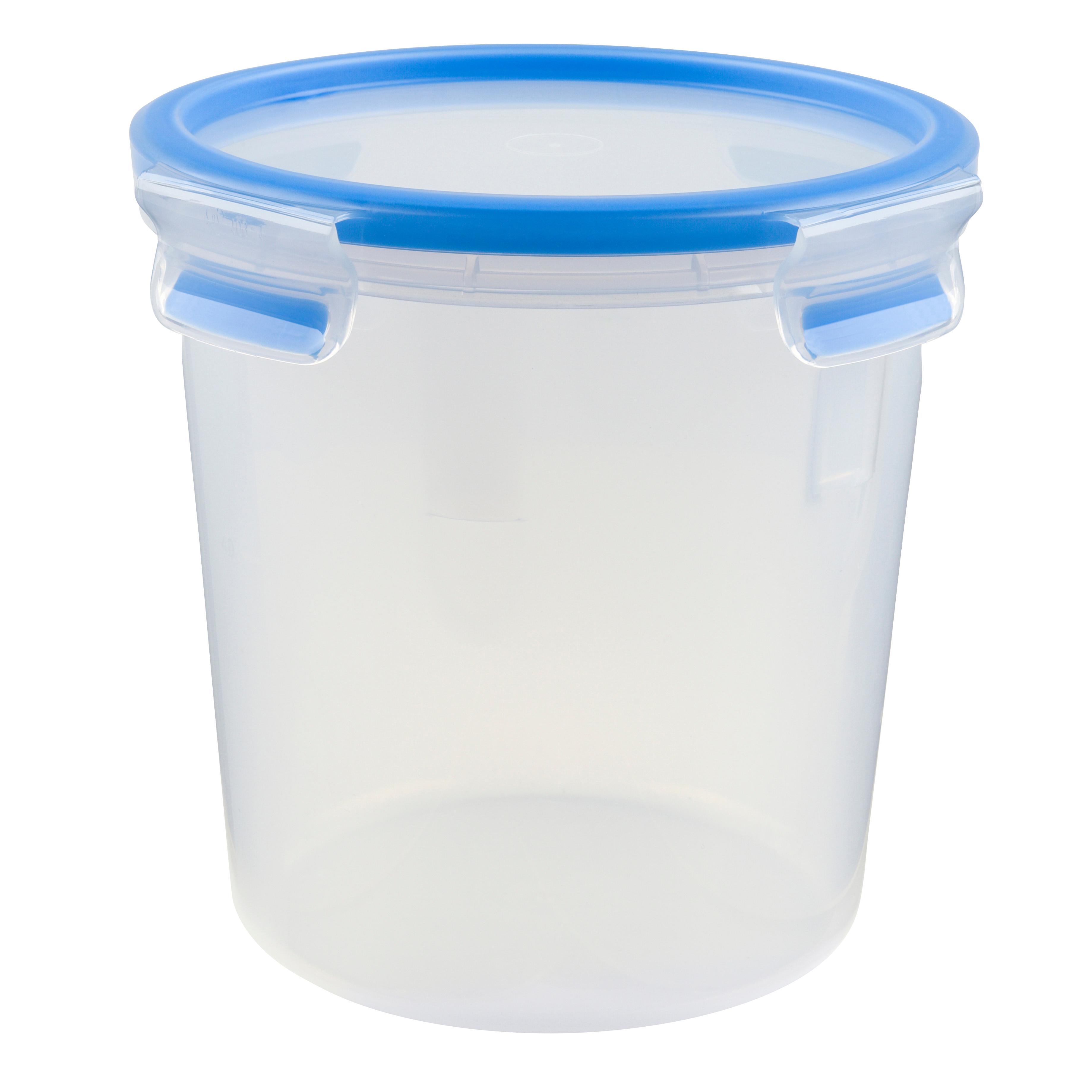 EMSA 508553CLIP & CLOSE Frischhaltedose 2,0 L rund - 100 % dicht - made in Germany - besondere Frische-Dichtung - 100 % hygienisch