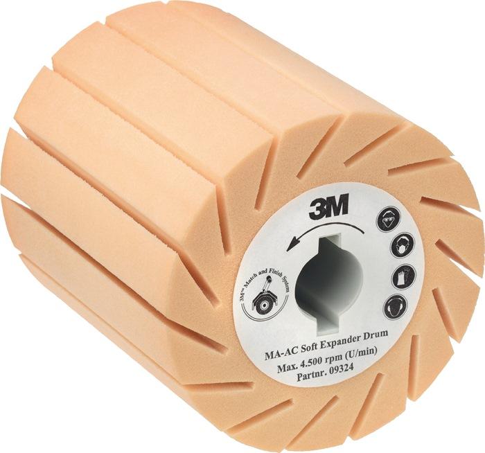 Aufnahmewalze MA-AC weich Ø90xB100mm