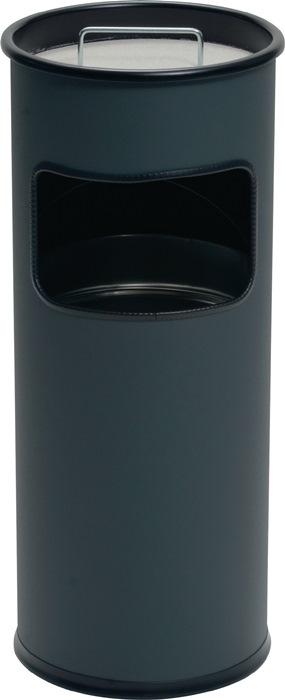 Kombiascher Ø260xH620mm anthrazit