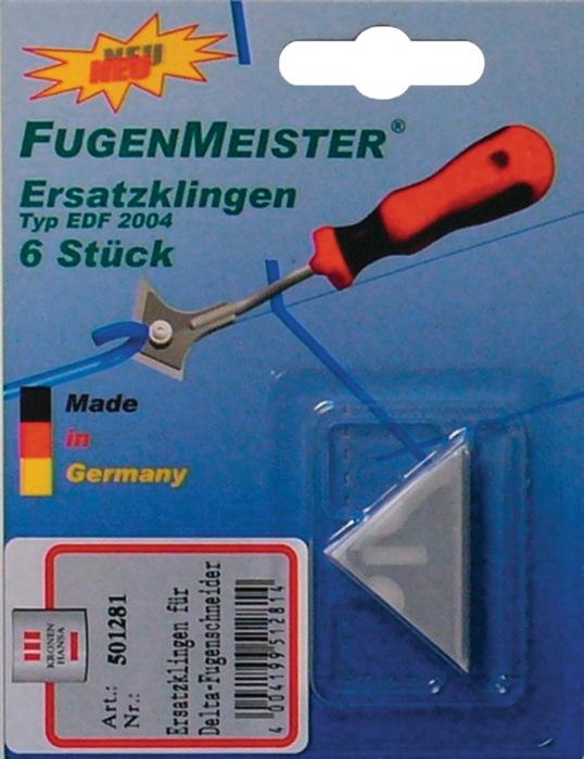 Ersatzmesser Fugenmeister Delta 6 St.auf