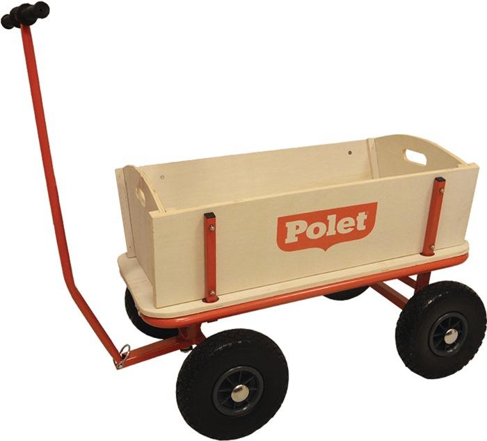 Bollerwagen 16,50kg 4 PU-Reifen/300 68l