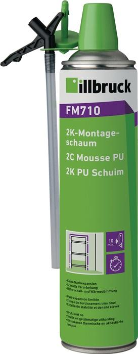 2K-Montageschaum FM710 400 ml B2 grün
