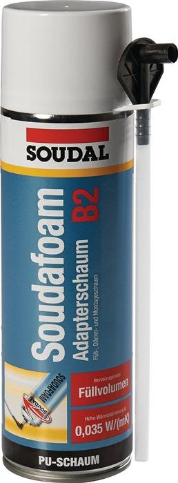 1K-Montageschaum SOUDAFOAM 500 ml B2