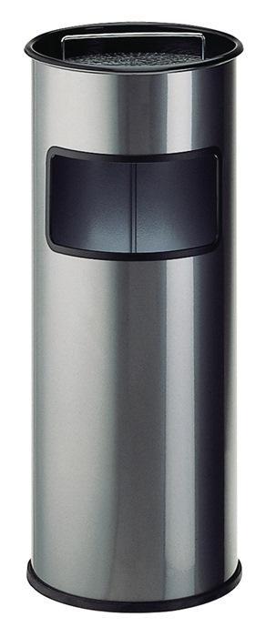 Kombiascher Ø270xH640mm anthrazit