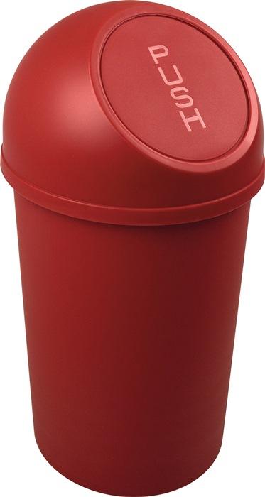 Abfallbehälter H490xØ253mm 13l rot HELIT