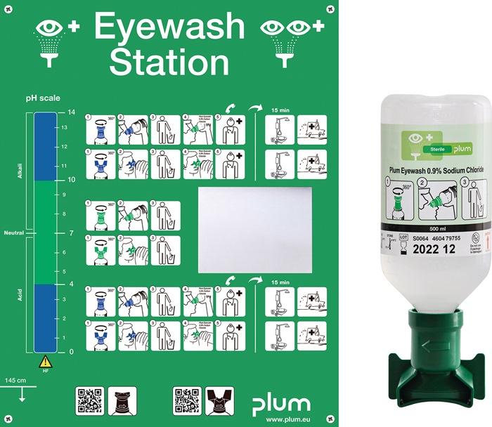 Augenspülstation 0,5l Haltbarkeit 3