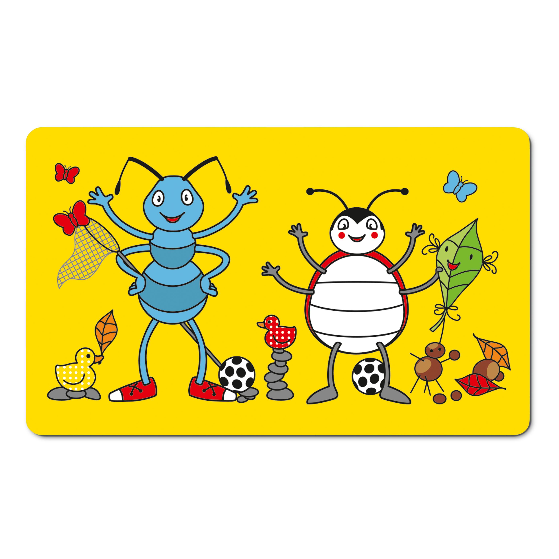EMSA 509714 KIDS Brettchen Anton Ant - Schneidbrett - Frühstücksbrettchen für Kinder