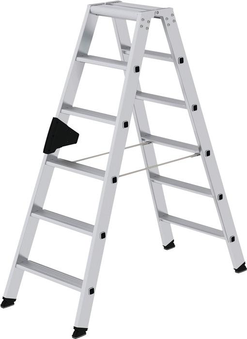 Stufenstehleiter 2x6 Stufen