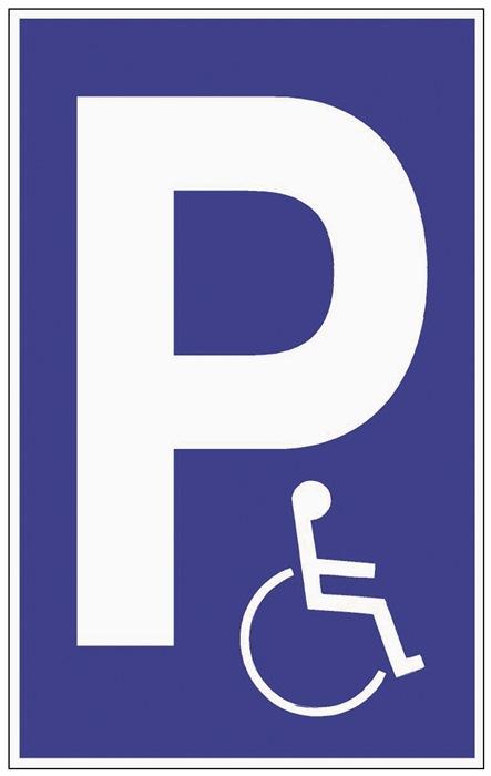 Parkplatzbeschilderung Parken