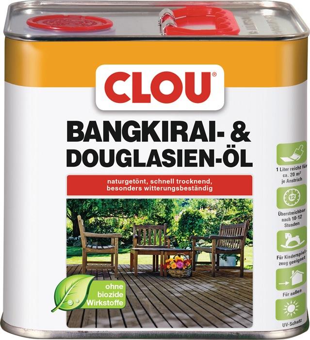 Bangkirai-/Douglasienöl naturgetönt 2,5l