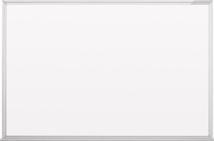 Schreibtafel B1200xH900mm Stahlbl.weiß