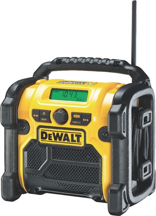 Baustellenradio DCR 020 10,8-18 V 230 V